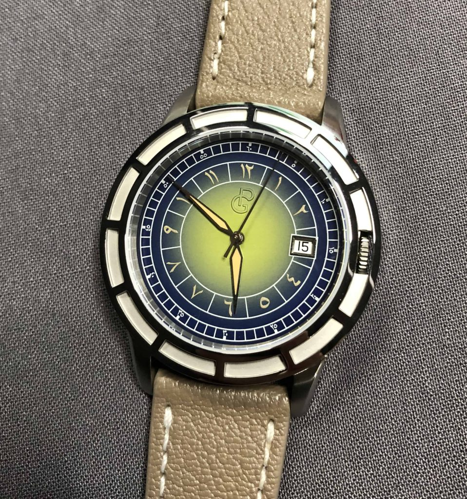 Pierre Gaston Date Watch With Limited Edition Eastern Arabic Dial